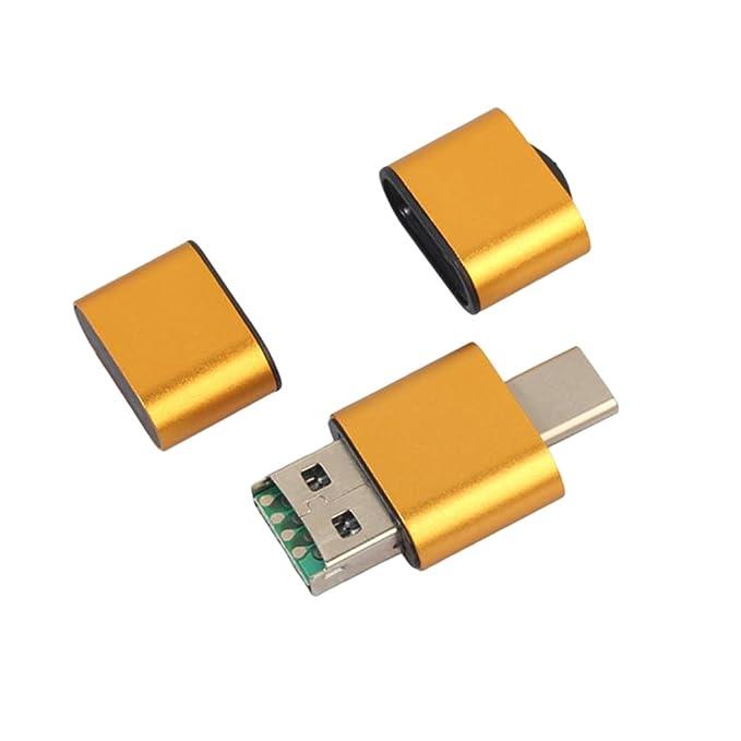 KESOTO 2 en 1 OTG Tipo-c/USB TF Transformador de Datos de ...