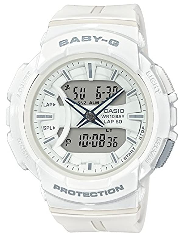 CASIO BABY-G 시계 FOR RUNNING BGA-240BC-7AJF
