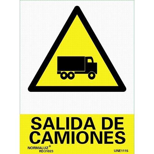 Forever Print - Cartel Pvc Serigrafia Salida Camion