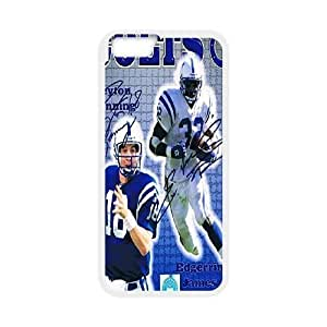 iPhone6 Plus 5.5 inch Phone Case White Indianapolis Colts JIL689722