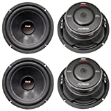 4) New PYLE PLPW6D 6'' 2400W Car Audio Subwoofers Subs Woofers DVC Stereo 4-Ohm