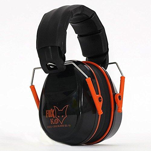 FUXTEC Kids Gehörschutz, orange/schwarz