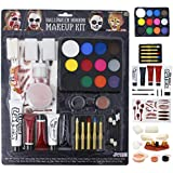 JOYIN Halloween Makeup Ultimate Family Party Pack (36 PCS) Including Liquid Latex, Fake Blood Gel Costume Makeup