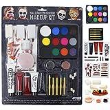 #3: JOYIN Halloween Makeup Ultimate Family Party Pack (36 PCS) Including Liquid Latex, Fake Blood Gel Costume Makeup