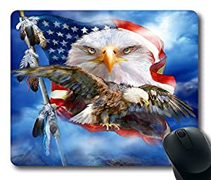 "Vision Of Freedom Custom Rectangle Mouse Pad Oblong Gaming Mousepad in 220mm*180mm*3mm (9""*7"") -922044 by icecream design"