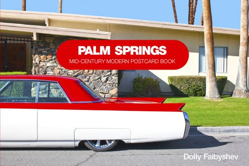 Palm Springs: Mid-century Modern Postcard Book