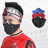 Haotianyuan Super Cool Bike Motorcycle Racing Ski Half Mask Filter