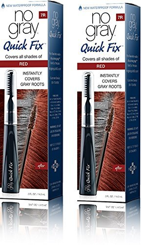 No Gray Quick Fix Instant Touch-Up for Gray Roots (Set of 2, Red)