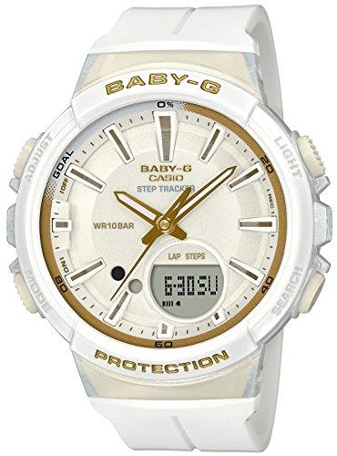 Casio Baby G White Dial Polyurethane Strap Ladies Watch BGS-100GS-7A