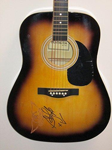 steven-tyler-signed-autograph-acoustic-guitar-aerosmith-rock-music-american-idol-jsa-loa