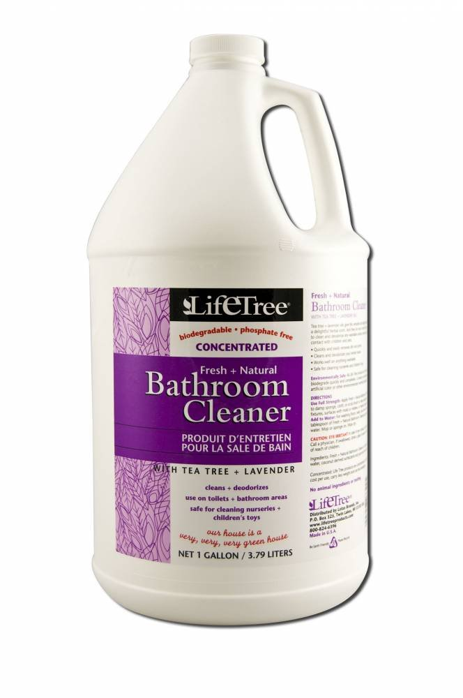 Amazoncom Life Tree Cleaning Products Bathroom Cleaner Gallon - Safe bathroom cleaner