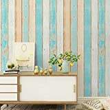 HaokHome H001 Wood Panel Peel and Stick Wallpaper 23.6