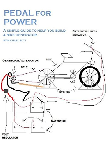 Pedal for Power: A simple guide to help you build a bike powered generator