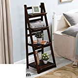 Balcony flower/solid wood multi-layer racks/living room showy/simple folding pot holder-H