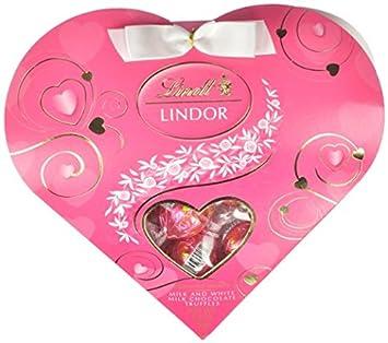 Amazon.com : Lindt Mother's Day Lindor Truffles Gift Box, Milk ...