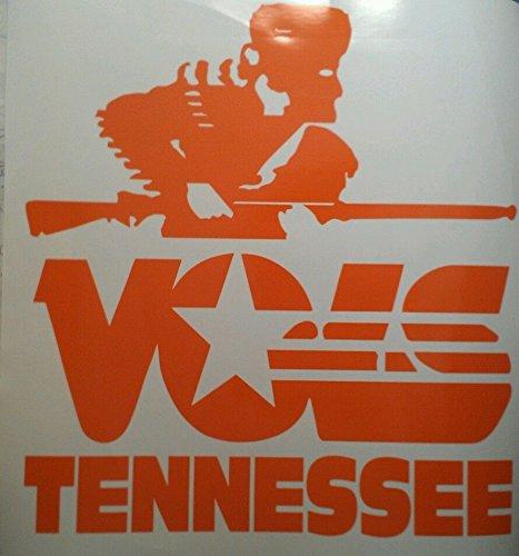 Tennessee Volunteers Rifleman Cornhole Board Decals - Vinyl Cornhole Decals