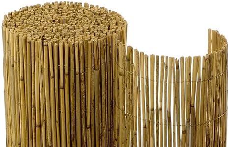 Rollo de cañas para ocultación (1,8 x 6 m): Amazon.es: Jardín