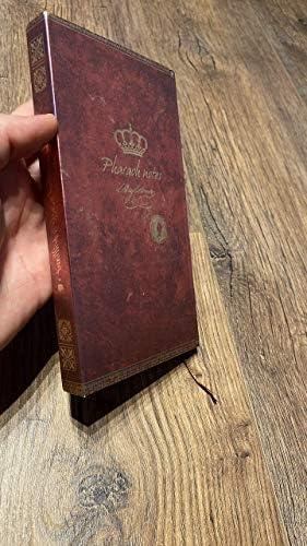 Vintage Notebook A5 Diary Journal Copertina rigida fronte retro magnetico della copertura Regalo antico unico per donna e uomo