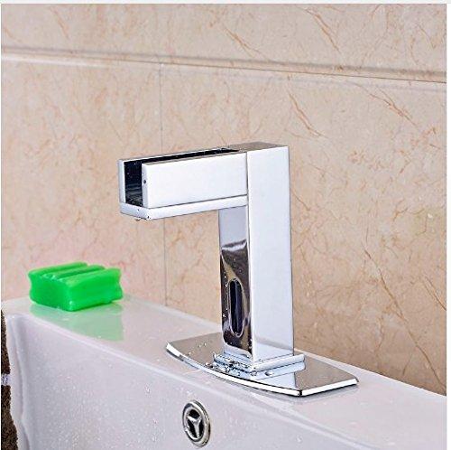 LED Light Water Saving Sensor Taps Wholesale | Gowe Bathroom Vanity Sink Tap 1
