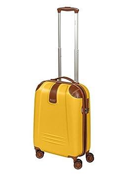 Dielle - Juego de maletas Mujer Hombre, amarillo (amarillo) - Dielle 255: Amazon.es: Equipaje