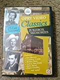 Opry Video Classics Jukebox Memories