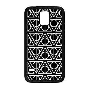 NICKER Simple black triangle pattern Cell Phone Case for Samsung Galaxy S5
