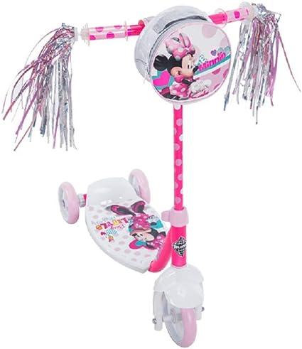 Pink Scooter Disney Minnie Girls 3-Wheel