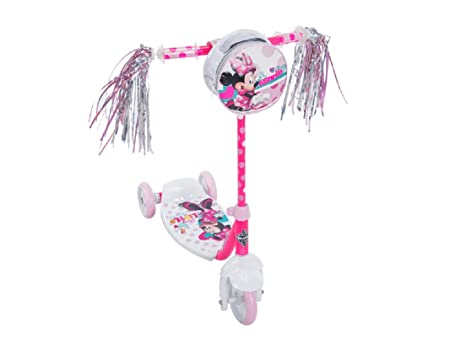 Disney Juniors New Minnie Mouse – Preschool 3 Wheeled Scooter by Disney – HUFFY
