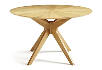 Furniture Expressions Serene Bexley Round Oak Dining Table
