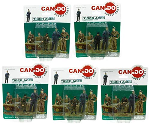Used, 1:35 Combat Figure Series 5 Tiger Aces Normandy 1944 for sale  Delivered anywhere in USA