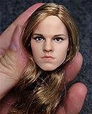| Custom Emma Watson 1/6 Head Sculpt for Hot Toys Phicen Kumik Female Body | /item# G4W8B-48Q33245