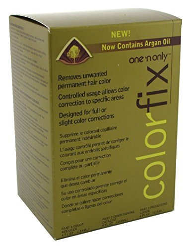 One N Only Colorfix Kit Permanent Hair Color Remover by one 'n only