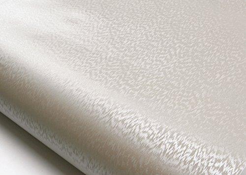 ROSEROSA Peel & Stick Backsplash Textile Fabric Textured Vinyl Contact Paper Self-adhesive Wallpaper Shelf Liner Table and Door Reform (MG5159-2 : 2.00 Feet X 6.56 Feet) by ROSEROSA