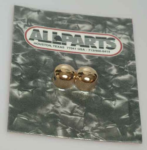 Allparts MK-3315-002 Gold Mini Dome Knob Set Gold Mini Dome Guitar Knob