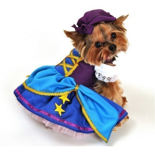Girl Animal Pet Dog Cat Gypsy Pirate Party Halloween Fancy Dress Costume Outfit XS-XL (Extra Small) ()