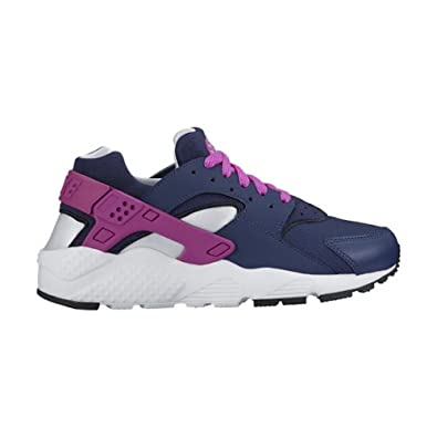 watch 2c366 720c0 Nike Kids  Huarache Run (GS) Running Shoe (5.5) Navy Blue