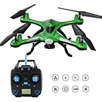JJRC H31 Waterproof Headless RC Quadcopter Drone with Camera,2.4G 4CH 6Axis 360°Rolling Action 3D CF One Key Return Quadcopter RTF with LED Light for Night Flight