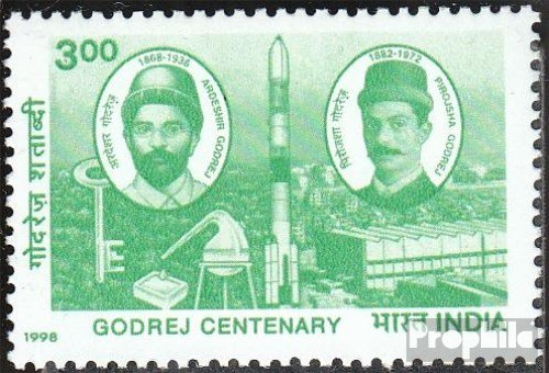 india-1635-completeissue-1998-godrej-stamps-for-collectors
