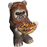 Halloween Decoration Star Wars Ewok Candy Bowl and Holder Dimensions 15.01 x 12.01 x 1.21 Inches