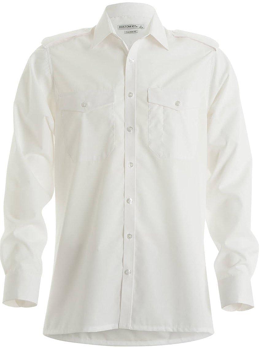 Kustom Kit Mens Pilot S//S Business Shirt