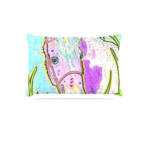 Kess InHouse Rebecca Fischer Nemo  Fleece Dog Bed, 50 by 60 , Horse