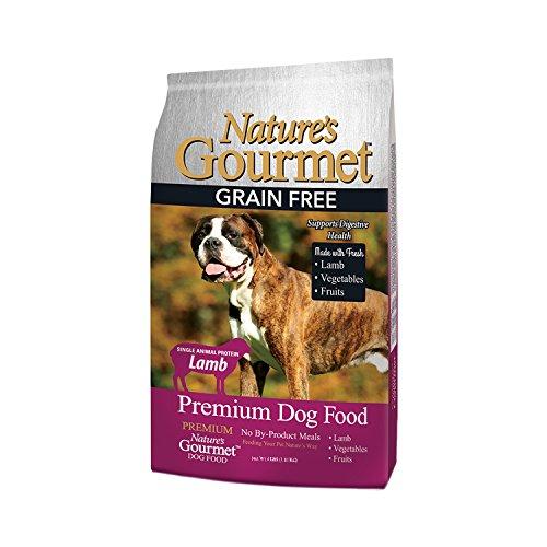 Nature'S Gourmet Dog Food, Premium Grain Free Adult Dry Dog Food, Lamb, 4 Lb Bag