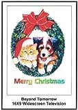 Beyond Tomorrow: 16x9 Widescreen TV.: Greetinr Card: Merry Christmas