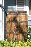 Whiskey / Bourbon Barrel Rain Barrel, 53 Gallon, Used Food Grade Oak Barrel