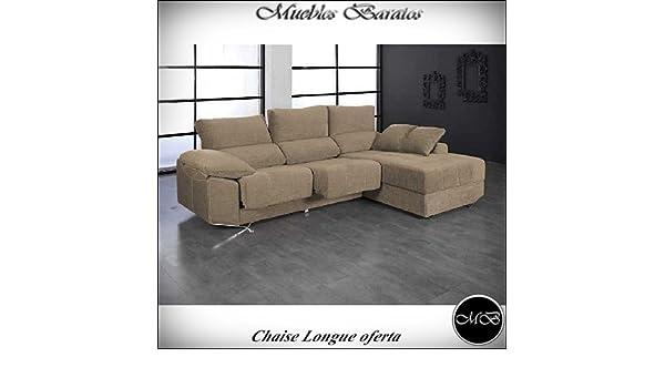 Home Actually Sofas 4 plazas Chaise Longue para Salon Sofa ...
