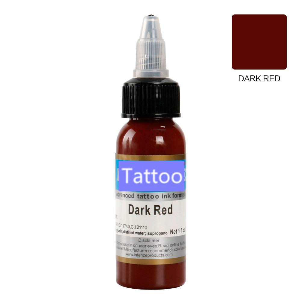 Tattoo Intenze 1 color tattoo ink 1oz/Bottle tattoo ink set (TRUE BLACK) OUBOYA