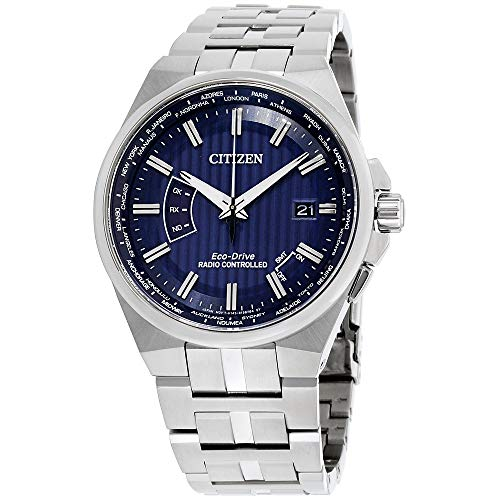 Citizen Watches Men's CB0160-51L Eco-Drive Silver-Tone One Size (Watch Radio Controlled)