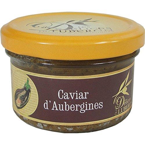 Delices Du Luberon Eggplant Spread Caviar D'aubergines (4 PACK)