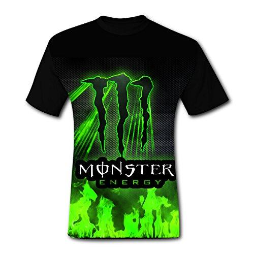 monster energy tee shirt - 1