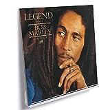 AKRILEX Vinyl Record Shelf Wall Mount - 8 Pack